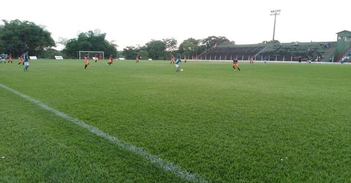 Guaraí e Imagine ficaram no empate de 2 a 2 no estádio Delfinão (Foto: Guaraí Notícias)