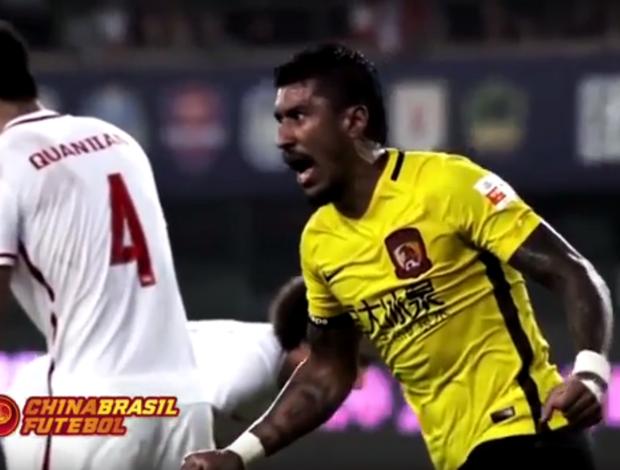 BLOG: De cabeça, de peito, de falta... Confira todos os gols de Paulinho na China