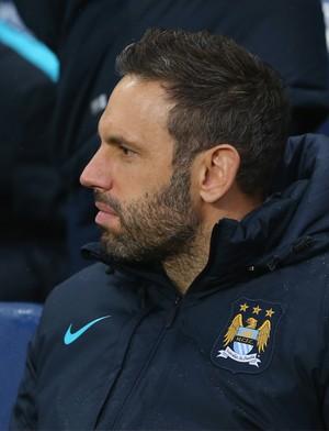 Richard Wright, goleiro do Manchester City (Foto: Alex Livesey/Getty Images)