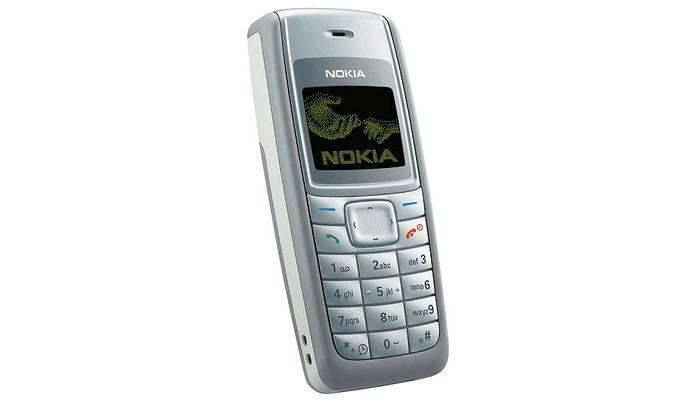 Nokia 1110, o celular mais vendido da história (Foto: Divulgação/Nokia)