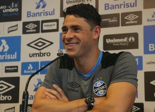 Grêmio Giuliano (Foto: Eduardo Deconto/GloboEsporte.com)