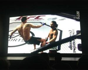 Novo game de MMA 'UFC' (Foto: Gustavo Petró/G1)