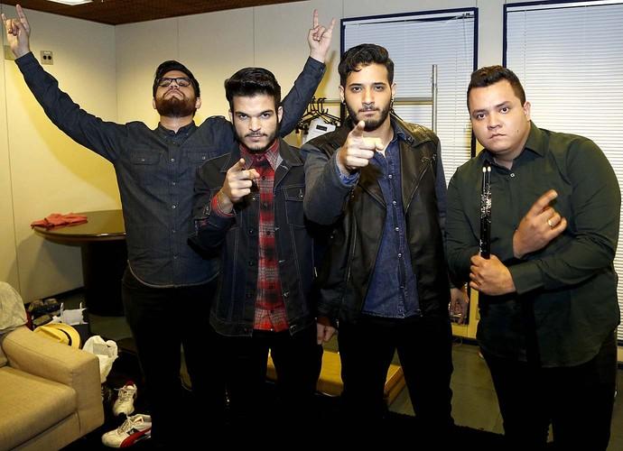 versalle bastidores top 7 (Foto: Raphael Dias/Gshow)