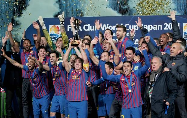 Barcelona Mundial de Clubes 2011 Santos (Foto: Getty Images)