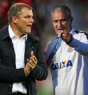 Carrossel Tite e Aguirre (Foto: Infoesporte)