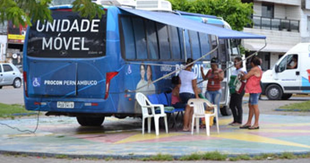 Em PE, Camaragibe e São Lourenço recebem unidades móveis do ... - Globo.com