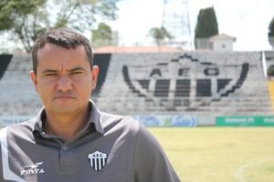 Donizete Amorim Araxá Esporte (Foto: Maritza Borges)