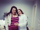 'Bebê pode nascer nesta quinta ou sexta-feira', diz namorado de Simony