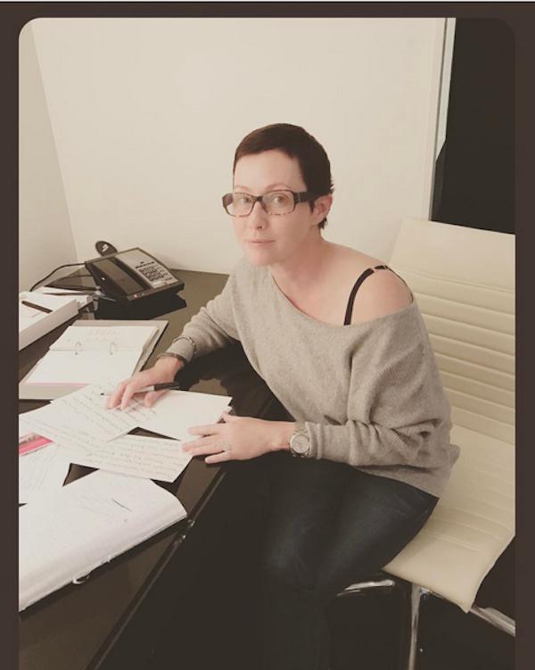A atriz Shannen Doherty (Foto: Instagram)