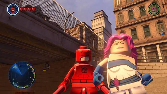 Lego Marvel Avengers: como desbloquear Jessica Jones e Demolidor (Foto: Reprodução/GameInformer)