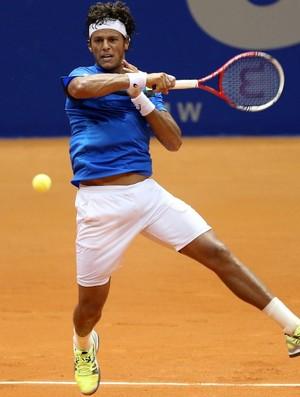 João Souza Feijão tênis Brasil Open qualifying (Foto: Gaspar Nobrega / Inovafoto)