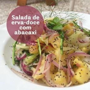 Salada de erva-doce (Foto: Divulgação )
