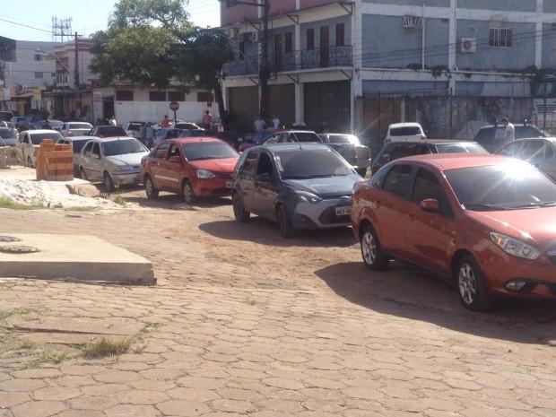 gasolina, amapá, Macapá, dia da liberdade sem impostos, imposto, (Foto: Fabiana Figueiredo/G1)