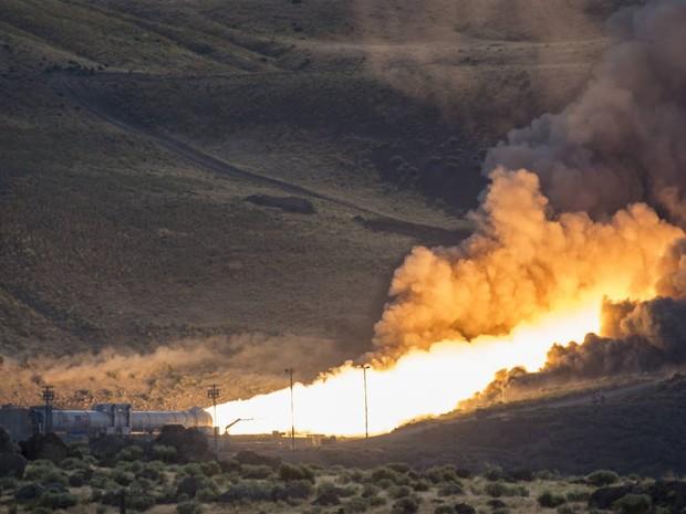 Trata-se do maior e mais poderoso propulsor já construído pela agência espacial americana (Foto: Nasa)