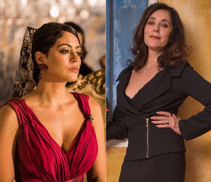 Iolanda, o amor de Afrânio, será desempenhada por Carol Castro e Christiane Torloni nas diferentes fases de 'Velho Chico'. (Foto: Caiuá Franco/ Globo)