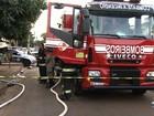Criança morre em incêndio após ser deixada sozinha em casa, em Goiânia