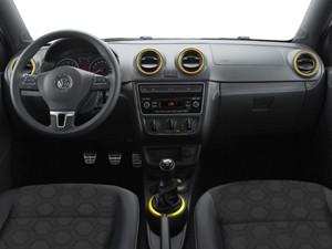 Interior do Volkswagen Gol Seleção 2014 (Foto: Divulgação)