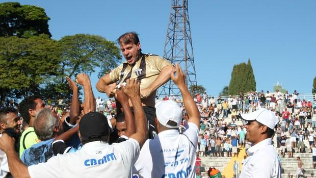 Gol Mil Túlio Maravilha Comemoração (Foto: Maritza Borges)