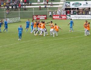 Rio Verde vence Crac e sobe na tabela (Foto: Hermom Dourado / E.C. Rio Verde)