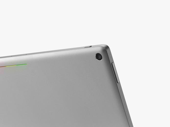 Pixel C oferece uma câmera traseira de 8 megapixels (Foto: Divulgação/Google)