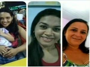 écnicas de enfermagem Rayline Campos, Raimunda Costa e Luciney Aguiar de Sousa (Foto: Reprodução/ TV Liberal)