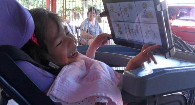 Pessoas com qualquer tipo de deficiência – física ou mental – podem se comunicar com o Livox (Foto: Divulgação)