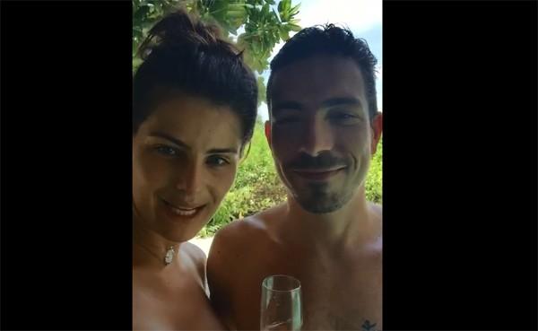 Isabeli Fontana e Di Ferrero (Foto: Reprodução /  YouTube)