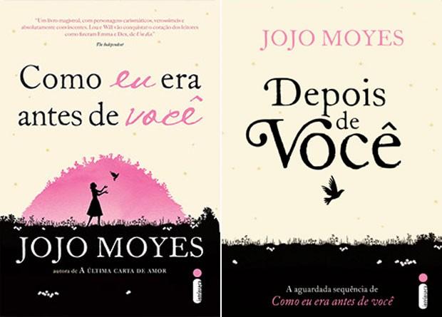 Segundo o portal Publishnews, dois livros da escritora britânica Jojo Moyes lideram a lista de best-sellers do Brasil até agora em 2016: 'Como eu era antes de você', em 1º, e 'Depois de você', em 2º; ambos foram publicados pela Intrínseca  (Foto: Divulgação/Instrínseca)