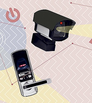 Segurança total (Foto: Ilustração Yumi Shimada/Editora Globo)