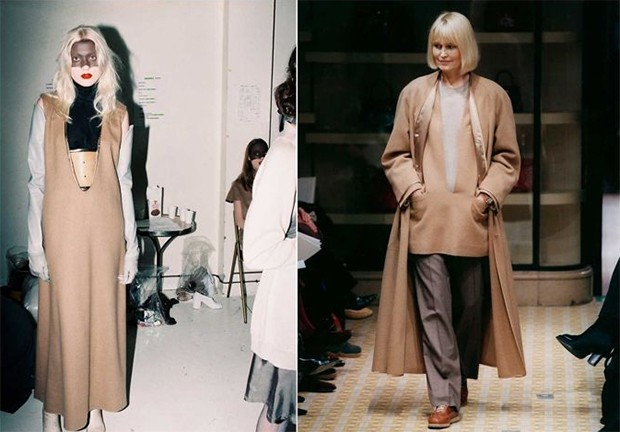 Left, Maison Martin Margiela A/W 1996-1997; right, Martin Marigela for Hermès A/W 1998-1999 (Foto: ANDERS ERDSTRÖM (LEFT)/STUDIO DES FLEURS (RIGHT))