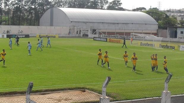 Sumaré derrota o São Raimundo-RR na primeira rodada da Copa São Paulo (Foto: Diego Vivan / Globoesporte.com)