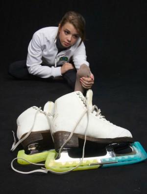 patinação no gelo Isadora Williams (Foto: Arquivo Pessoal)