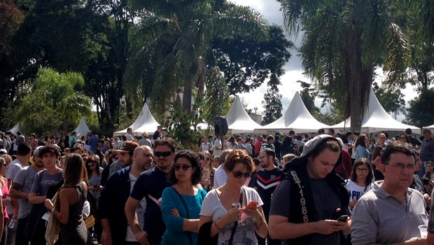 RPC trouxe diversão para a Feira Gastronomia do Palácio, em Curitiba (Foto: Divulgação/RPC)