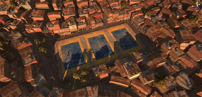 Metris Soccer trará partidas em favela do Rio de Janeiro (Foto: Divulgação/Metris Code)