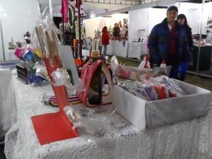 Quem visitou a exposição também pode conhecer o artesanato da cidade (Foto: Fernanda Soares/G1)