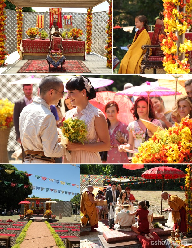 Confira os melhores momentos do casamento (Foto: Carol Caminha/TV Globo)