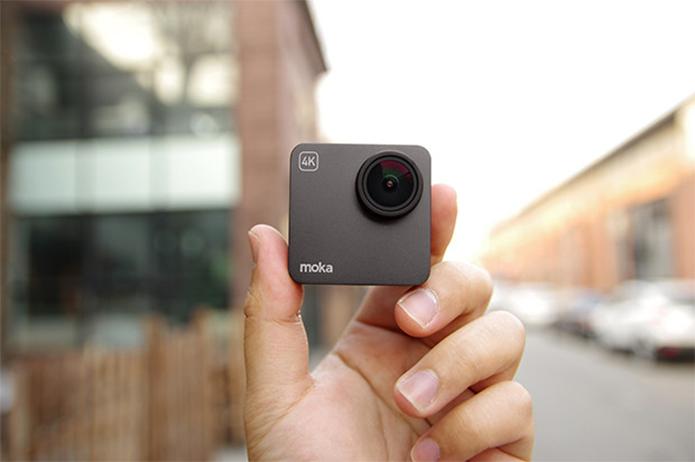 Alpha é 35% menor do que a GoPro Hero5 (Foto: Divulgação/Moka)