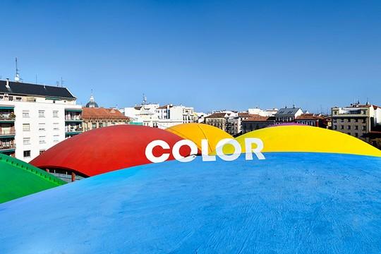 """A junção de todos os desenhos forma a palavra """"color"""" (Foto: Boa Mistura)"""