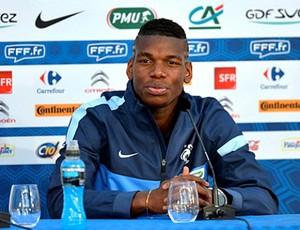 Paul Pogba França (Foto: Reprodução / Site Oficial)