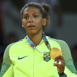 Rafaela Silva ouro (Foto: Reuters)