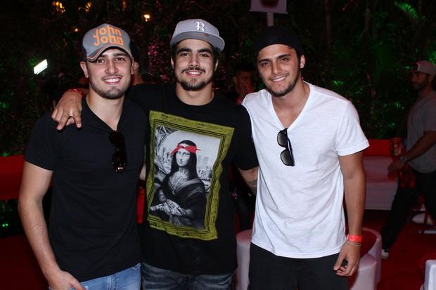 Daniel Rocha, Caio Castro e Bruno Gissoni (Foto: Raphael Mesquita / Divulgação)