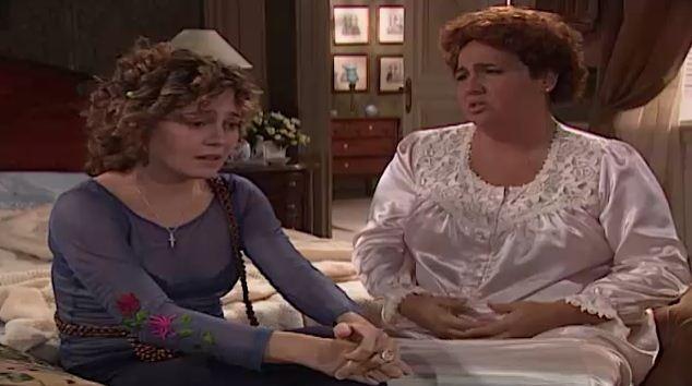 Sandra conta a Bina que a enganou (Foto: Reproduo/viva)