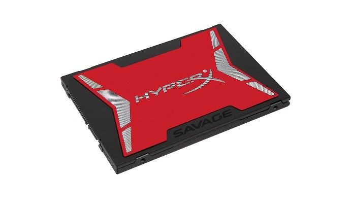 HyperX Savage é considerado um dos modelos Sata III mais rápidos do mercado (Foto: Divulgação/Kingston)