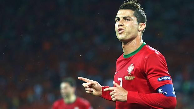 Cristiano Ronaldo, Portugal x Holanda (Foto: Getty Images)