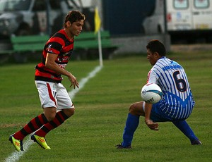 Luiz Henrique, atacante ex-Flamengo-PI (Foto: Thiago Amaral)