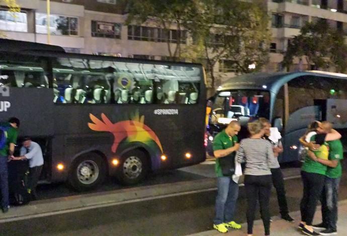 Despedida do Brasil do Mundial de Basquete (Foto: Fabio Leme)