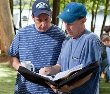 adam e diretor (Foto: Divulgação)