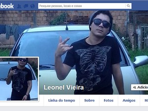 Leonel Vieira disse que era perseguido e pulou de carro em movimento (Foto: Reprodução/Facebook)