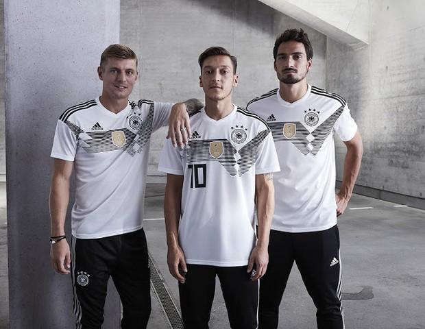 Uniforme da Alemanha para a Copa de 2018 (Foto: reprodução)