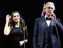 Vídeo: Anitta surpreende cantando clássicos ao lado de Andrea Bocelli